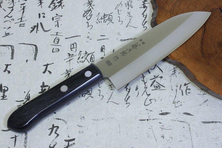 Tojiro Japanese Knife Sushi Chef DP A-1 3Layered Series by VG10 Mini Santoku