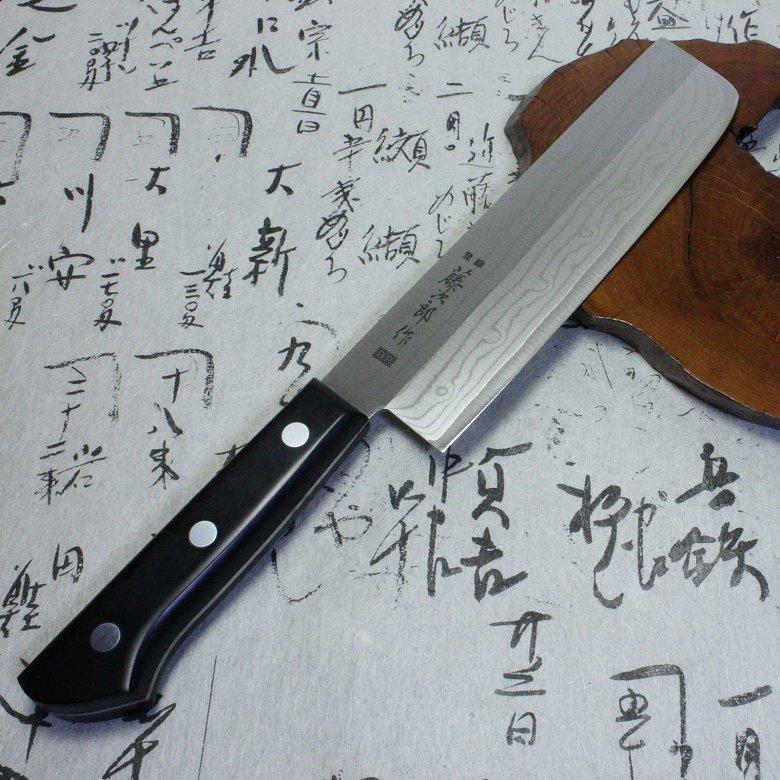 Japanese sushi Knife Tojiro damascus kasumi usuba chef
