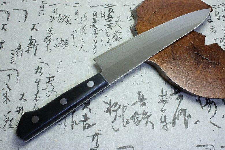 Japanese Tojiro damascus kasumi gyuto sushi chef Knife