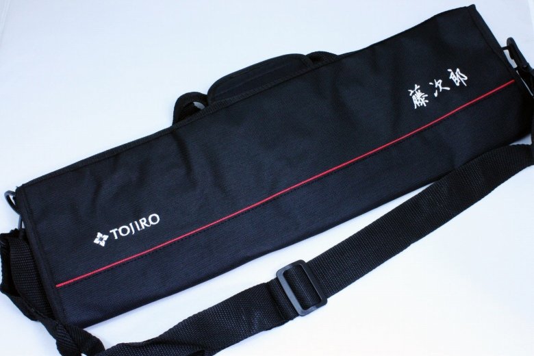 japanese tojiro soft chef 39 s knife bag carry case black f 355 ebay. Black Bedroom Furniture Sets. Home Design Ideas