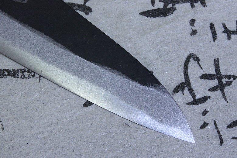 Tojiro Japanese Knife Sushi Chef White Shirogami Steel Black Finished Petty 120