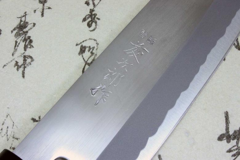Tojiro Japanese Knife Sushi Chef White Steel Shirogami Grinding Finished Santoku