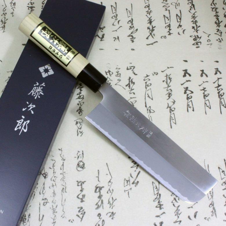 Tojiro Japanese Knife Sushi Chef White Steel Shirogami Grinding Finished Nakiri