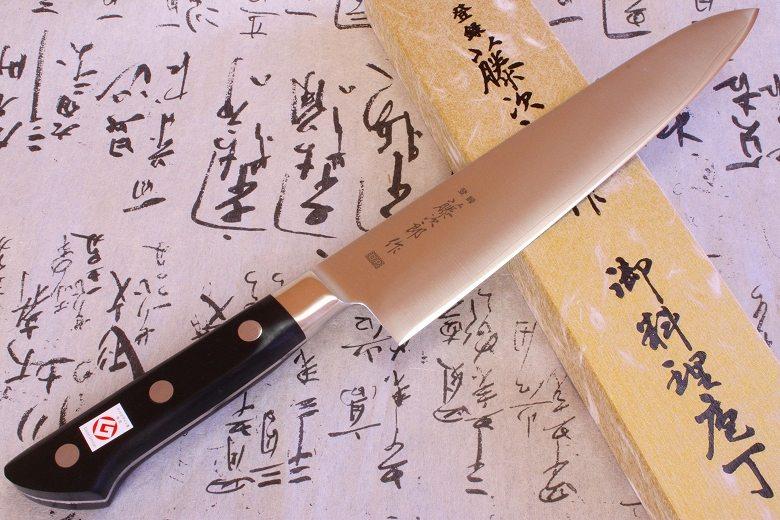 tojiro japanese knife sushi chef dp cobalt alloy steel round guard gyuto 180 - Japanese Knife