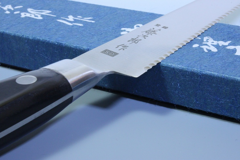 Tojiro Japanese Knife Sushi Chef Bread Slicer SD Molybdenum Vanadium Steel Seki
