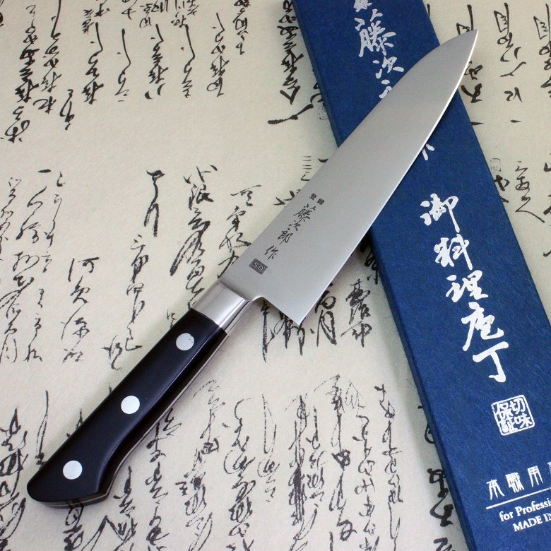 Tojiro Japanese Chef Knife Gyuto 180mm SD Molybdenum Vanadium Steel with Bolster