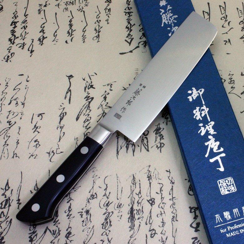 Tojiro Japanese Knife sushi chef sd molybdenum steel usuba 165mm
