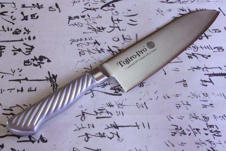 Tojiro Japanese Knife sushi chef santoku stainless handle 170mm