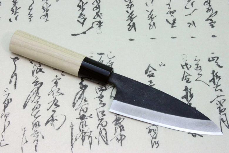 Tojiro Japanese Sushi Chef Knife Shirogami Steel Mini-Light Deba 105mm Japan