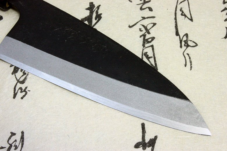 Tojiro Japanese Sushi Chef Knife Shirogami Steel Mini-Light Deba 120mm Japan