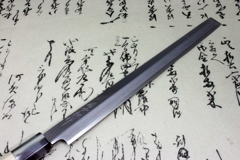 Japanese Knife Tojiro Sushi Sashimi Chef White Shirogami Steel Takohiki 240mm