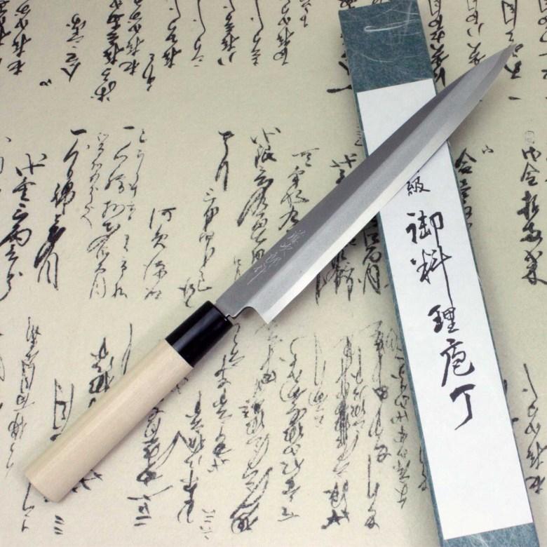 Japanese Knife Tojiro Sushi Sashimi Chef White Shirogami Steel Yanagiba 210mm