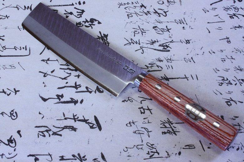 Japanese Sushi Knife Kanetsune DP Hagane Steel Usuba 165mm 2002