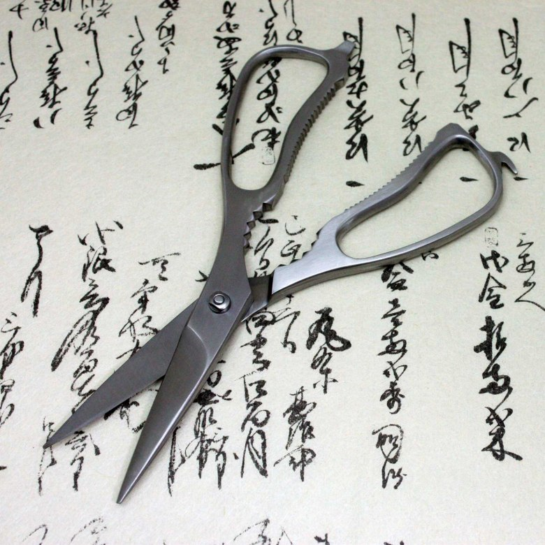 Kanetsune Japanese Kitchen Shears Scissors Separable Stainless Steel Seki Japan