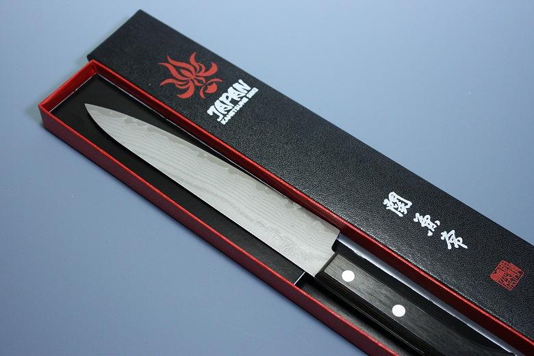 Kanetsune Japanese Damascus Kasumi VG 10 Stainless Steel Petty Chef Knife 150mm