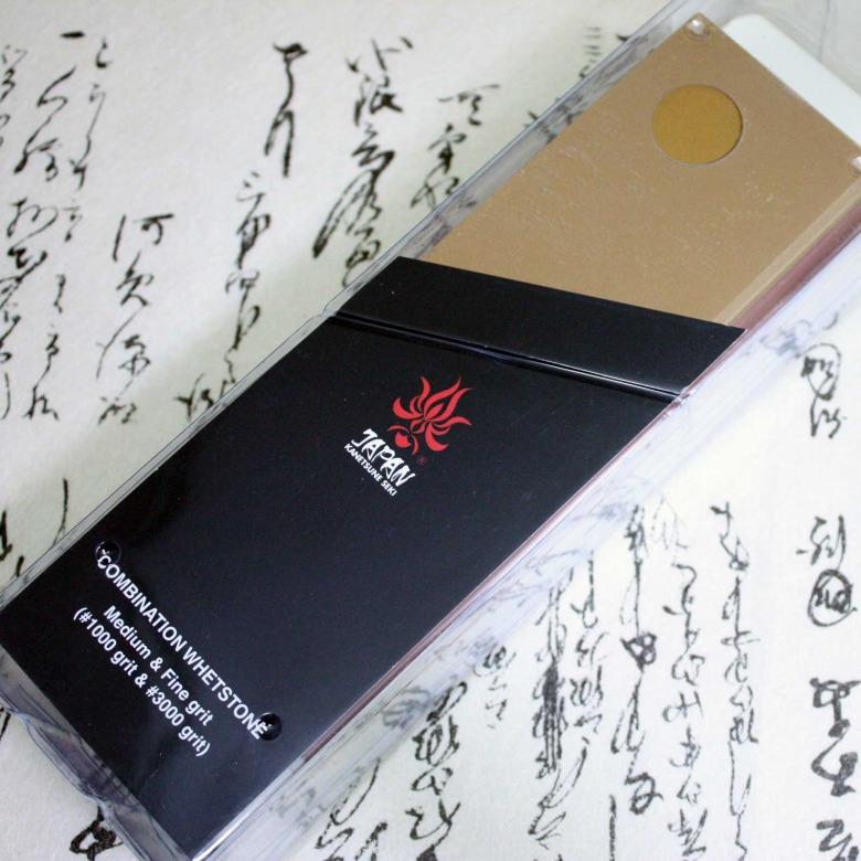 Kanetsune Japanese Kitchen Knife Sharpening Stone  #1000/#3000