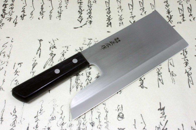 Japanese Masahiro Soba Noodles Kitchen Cleaver Knife Stainless Steel 240mm F/S