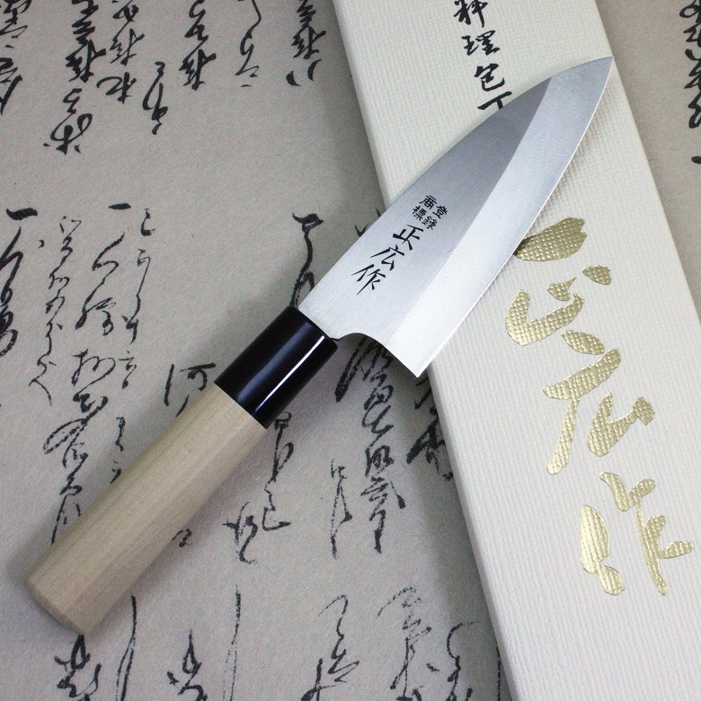 Japanese Masahiro Sushi Sashimi Chef Knife Stainless Steel Small Deba 105mm F/S