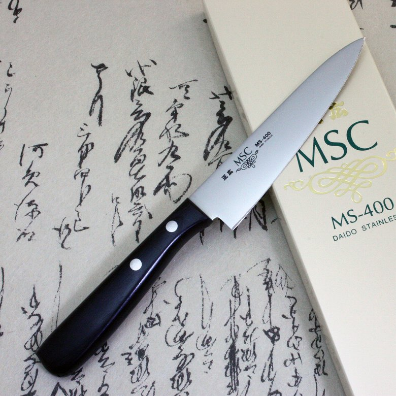 Japanese Masahiro Kitchen Chef Knife Staineless Steel MS-400 Petty 120mm F/S