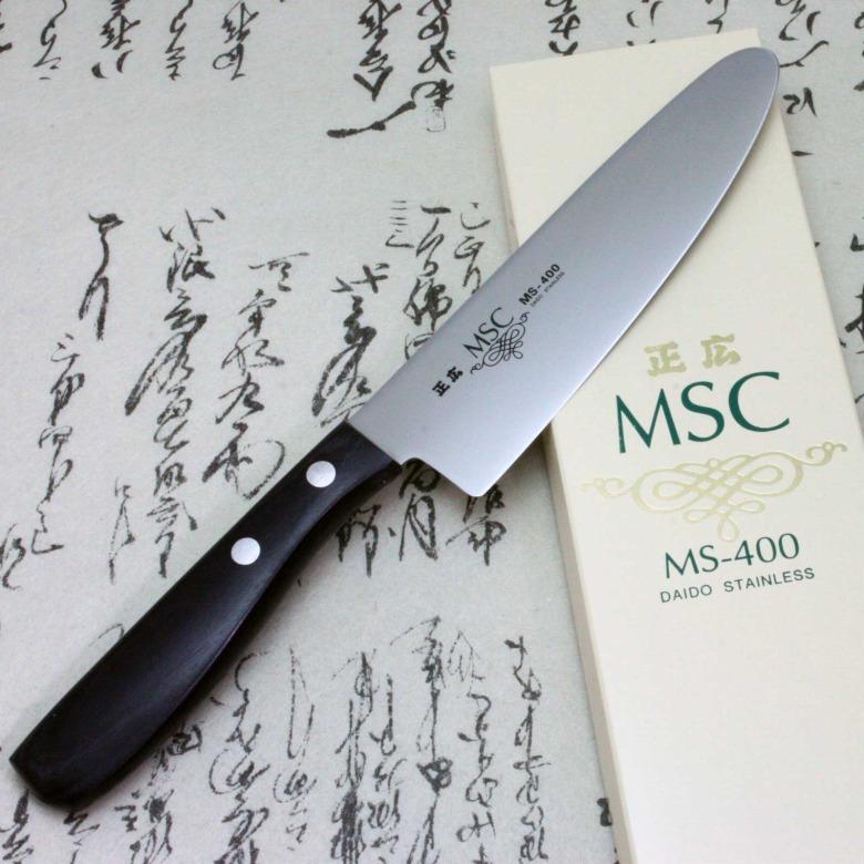 Japanese Masahiro Kids Children Kitchen Knife Staineless Steel MS-400 150mm F/S