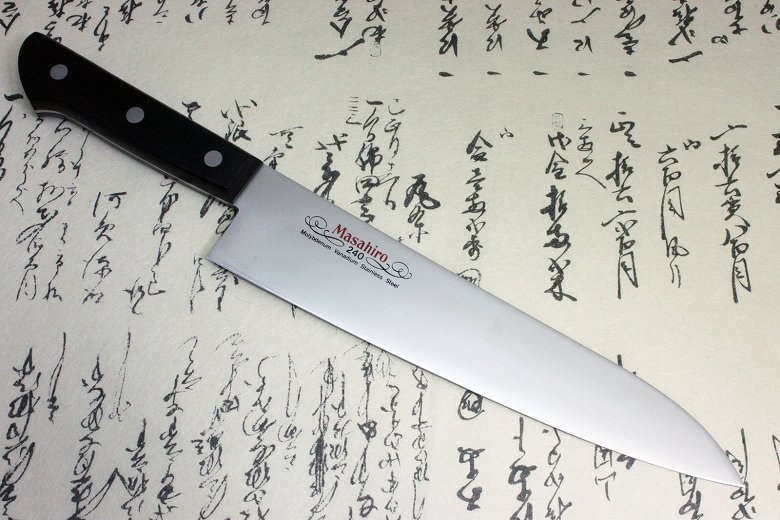 Masahiro Japanese Chef Kitchen Knife Molybdenum Vanadium Stainless Gyuto 240mm