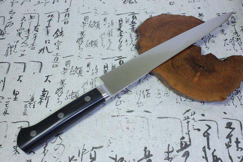 Japanese Masahiro Chef Kitchen Knife Molybdenum Vanadium Honyaki Sujihiki 14817