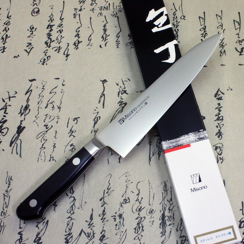 Misono Japanese Chef Knife Stainless Molybdenum Gyuto 180mm with Bolster F/S