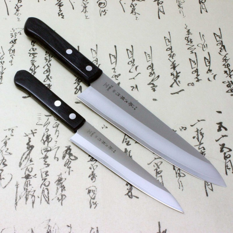 Tojiro Japanese Kitchen Chef Knife Set DP A-1 Series VG10 Gyuto & Petty
