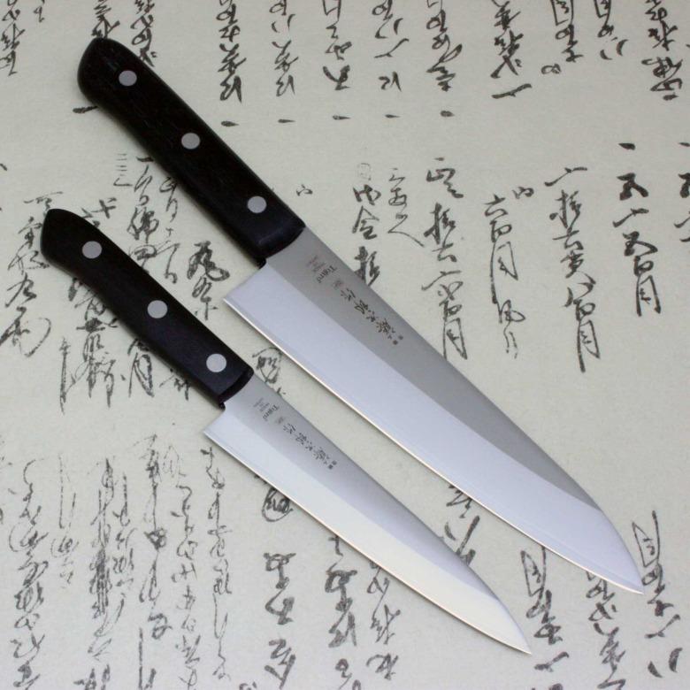 Tojiro Japanese Chef Knife Set Gyuto & Petty DP 3Layered by VG10 steel