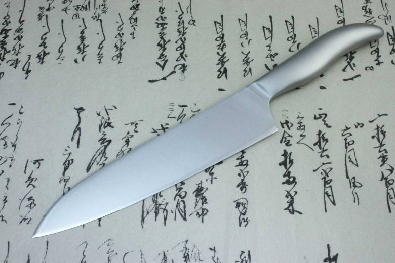 Japanese Kitchen Knife Shimomura Verdun Gyuto Chef's Knife Stainless Steel 210mm