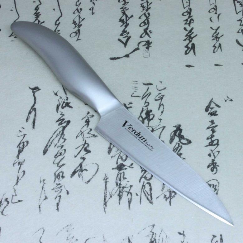 Japanese Kitchen Knife Shimomura Verdun Chef Petty Knife Stainless Steel 125mm