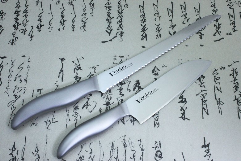 Japanese Kitchen Chef Knife Set Stainless 2 pcs Verdun OVD-40 Made in Japan
