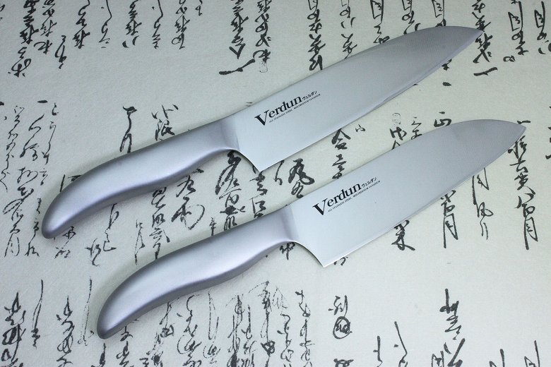 Japanese Kitchen Chef Knife Set Stainless 2 pcs Verdun OVD-50 Made in Japan