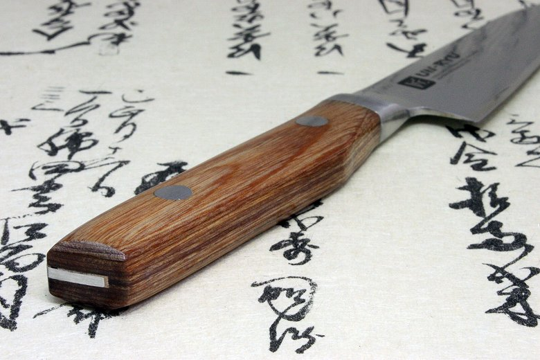 Japanese Damascus Kitchen Sushi Chef Knife UN-RYU Petty Made in Japan