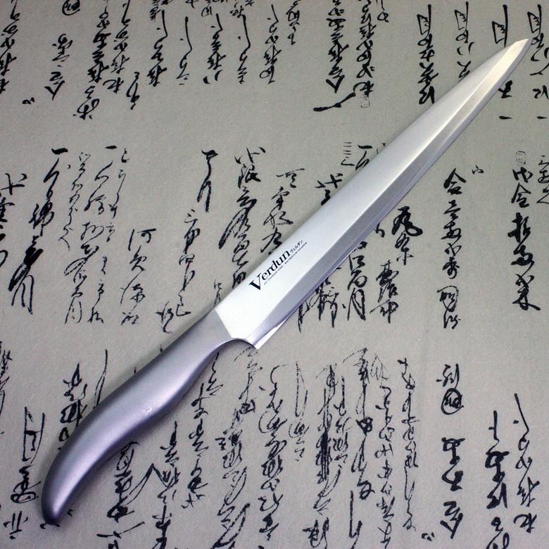 Japanese Sushi Sashimi Chef Knife Shimomura Verdun Yanagiba 240mm