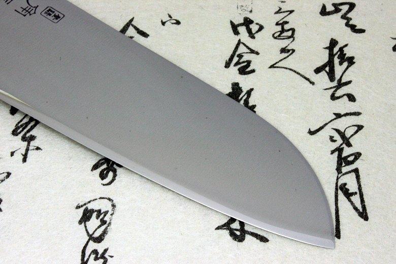 Japanese Sushi Chef Knife Shimomura Tsunouma 9000 Stainless Santoku