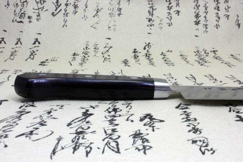 Japanese Sushi Chef Kitchen Knife Shimomura Tsunouma 9000 Stainless Gyuto 180mm