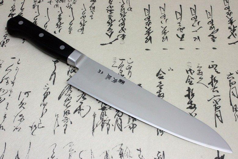 Japanese Sushi Chef Knife Shimomura Tsunouma 9000 Stainless Gyuto 210mm