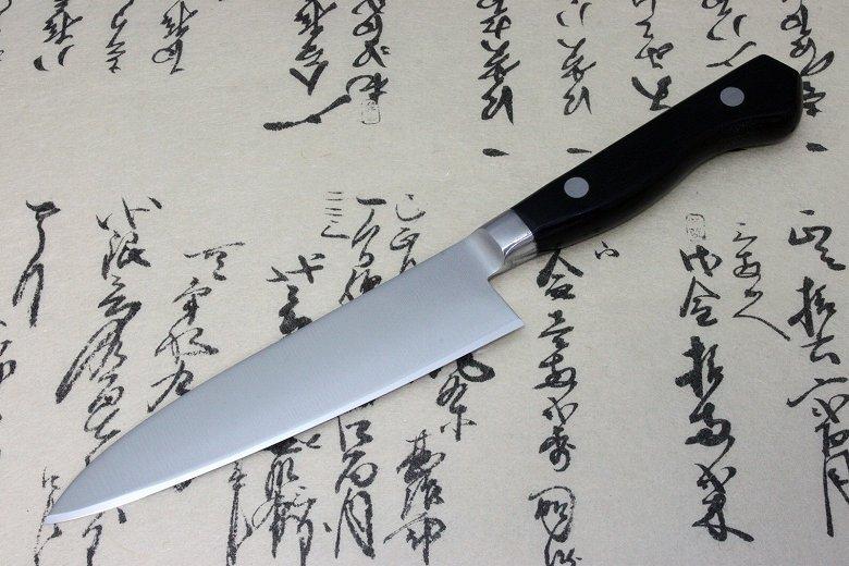 Japanese Sushi Chef Knife Shimomura Tsunouma 9000 Stainless Petty 125mm