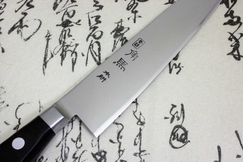 Japanese Chef Kitchen Knife Shimomura Tsunouma 9000 Stainless Petty 150mm