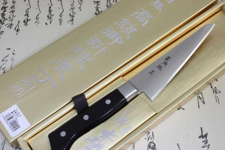 Japanese Kitchen Chef Knife Shimomura Tsunouma 9000 Stainless Boning Knife 145mm