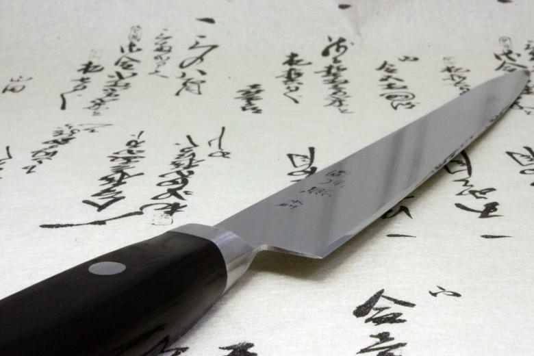 Japanese Chef Kitchen Knife Shimomura Tsunouma 9000 Stainless Sujihiki 240mm