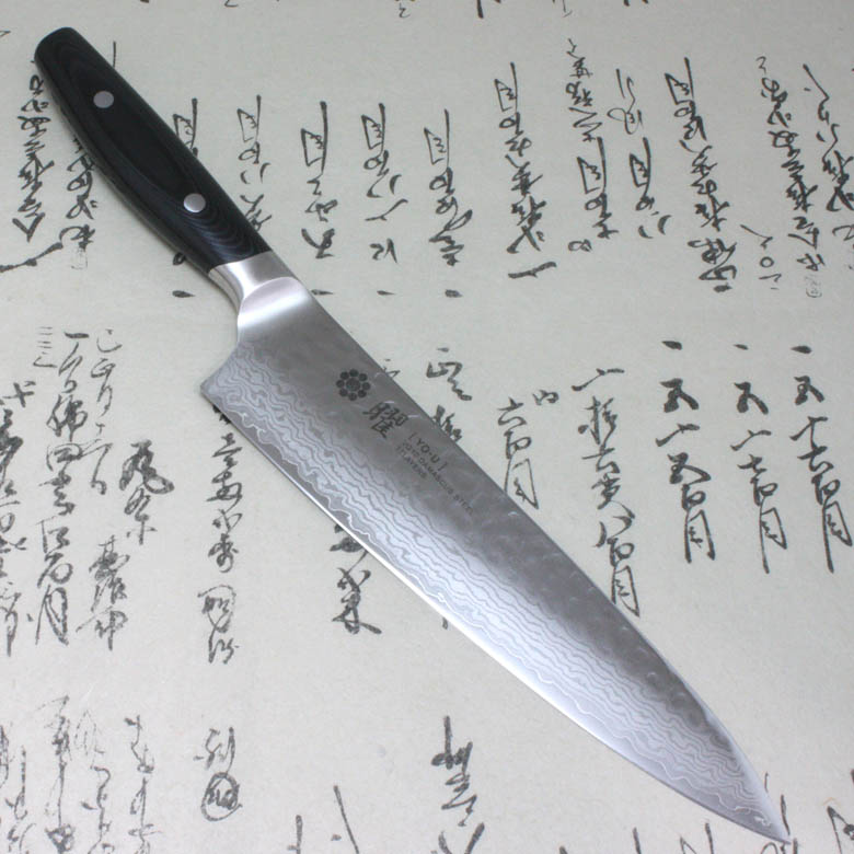 Japanese Yaxell YO-U 37 layers VG-10 Damascus Kitchen Chef's Knife Gyuto 210mm