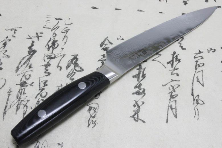 Japanese Yaxell YO-U 37 layers VG-10 Damascus Kitchen Knife Petty 120mm